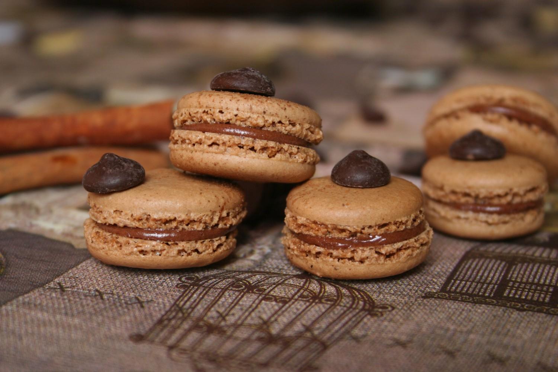 Шоколадно-Коричные Макароны