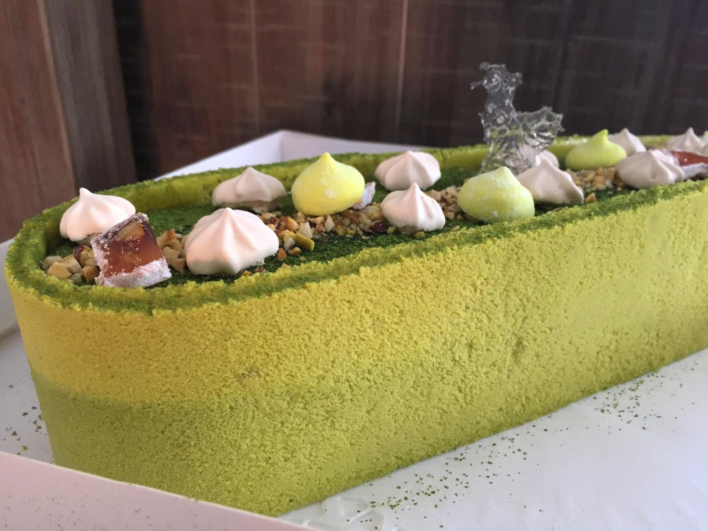 Торт Весенний С Чаем Матча