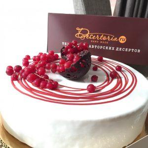 торт малина - бобы тонка