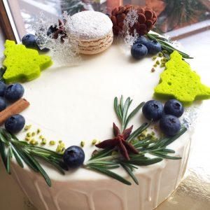 Торт Морковный Новогодний