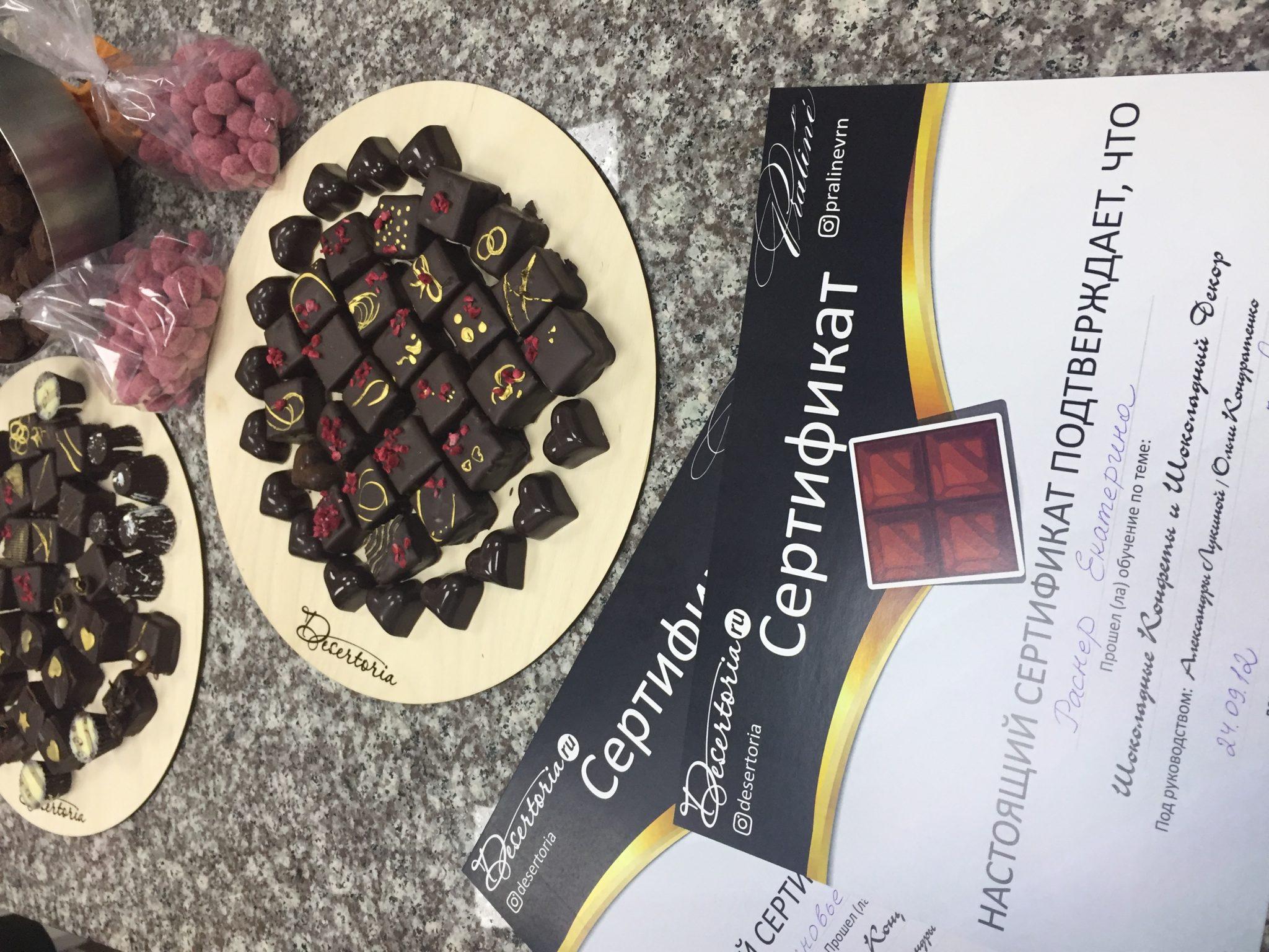 Отчет О Прошедшем Мастер Классе «Шоколад И Конфеты» В Краснодаре от 24.09.16
