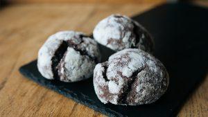 Печенье Шоколадное С Трещинками